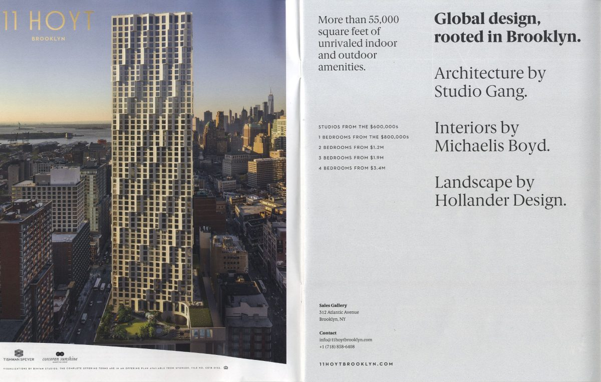 "New York Times – ""Another Condo Tower Sprouts in Brooklyn"""