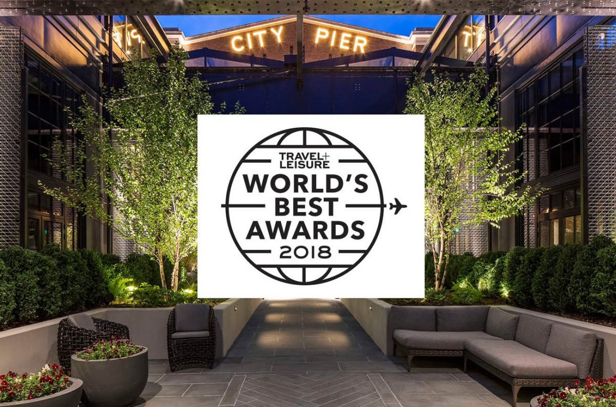 Travel + Leisure – Top Best New Hotels in the World