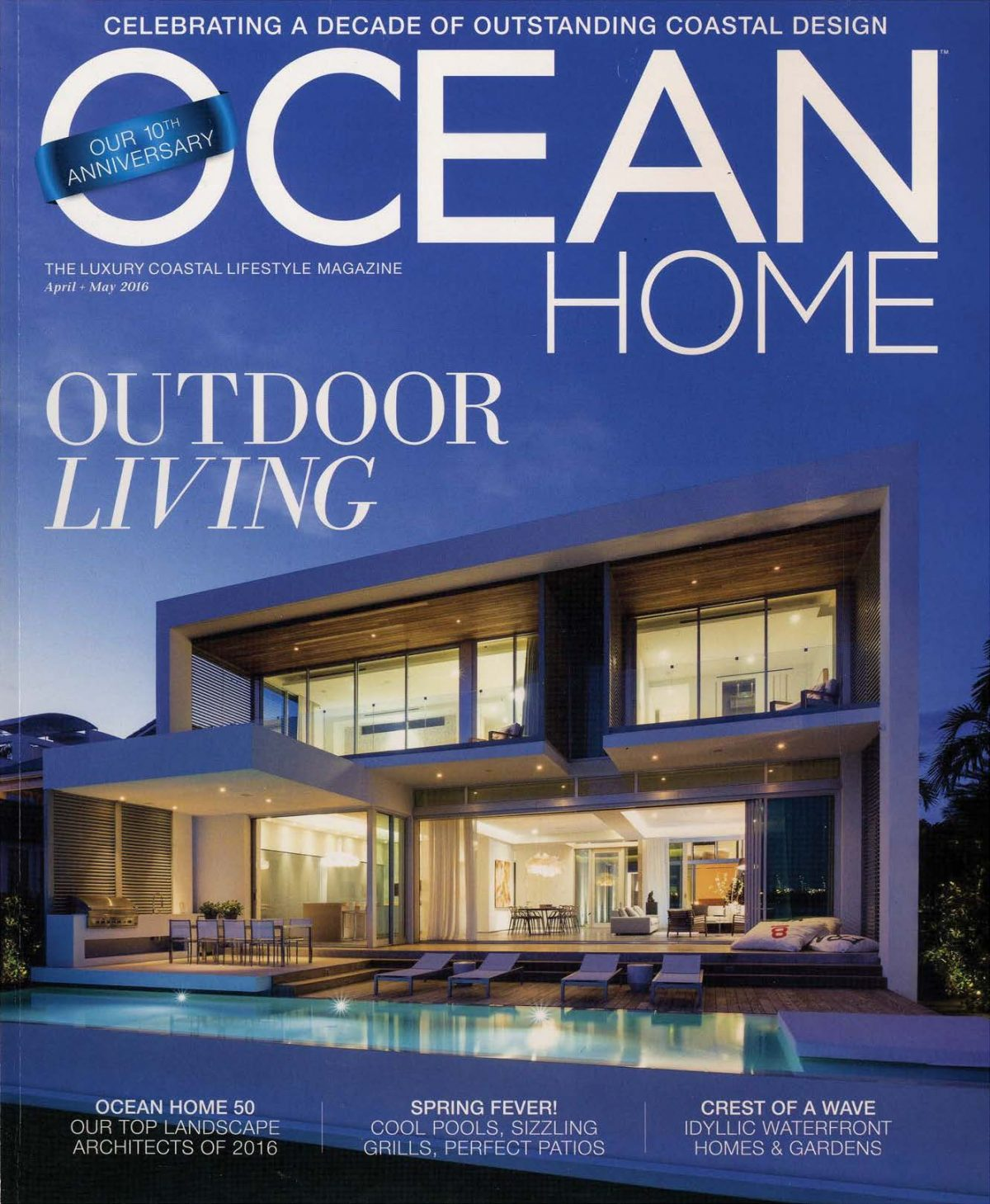 Ocean Home Magazine – Heaven in the Hamptons