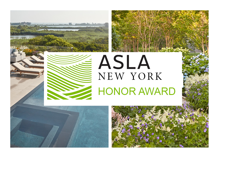 Award – Hollander Design Wins Two Awards from ASLA New York