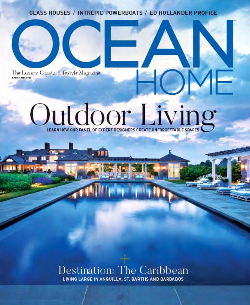 Ocean Home Magazine Profiles Ed Hollander