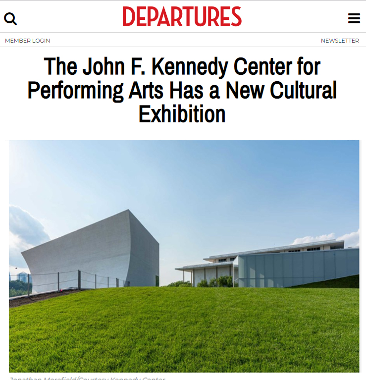 Departures Magazine on Kennedy Center REACH