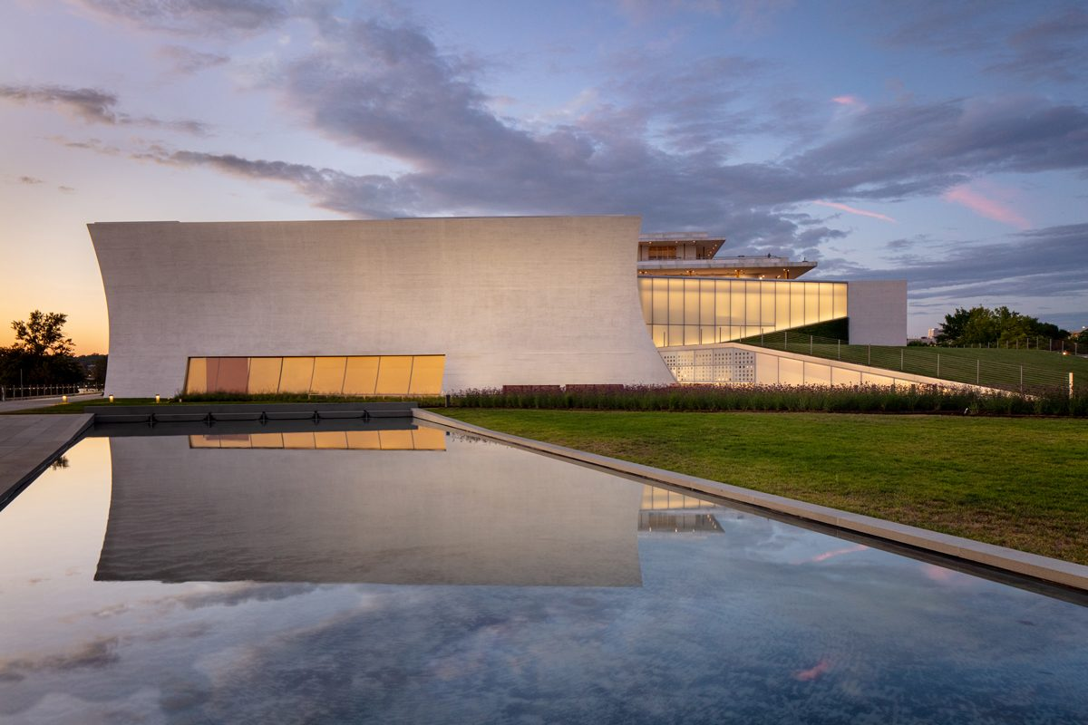 Architectural Digest Profiles The REACH at Kennedy Center