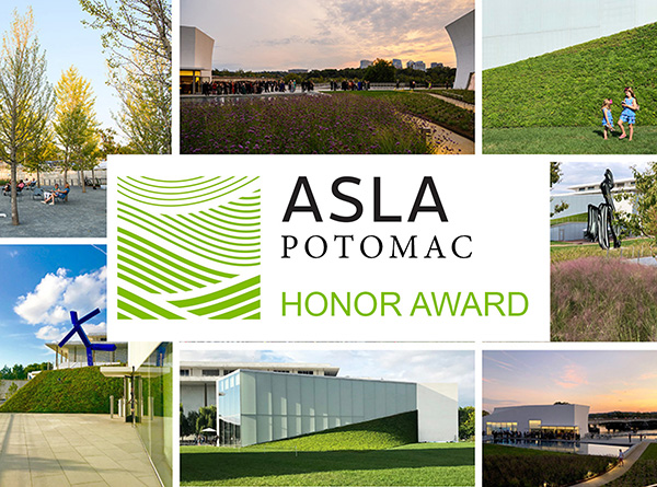Hollander Design Wins Honor Award from ASLA Potomac