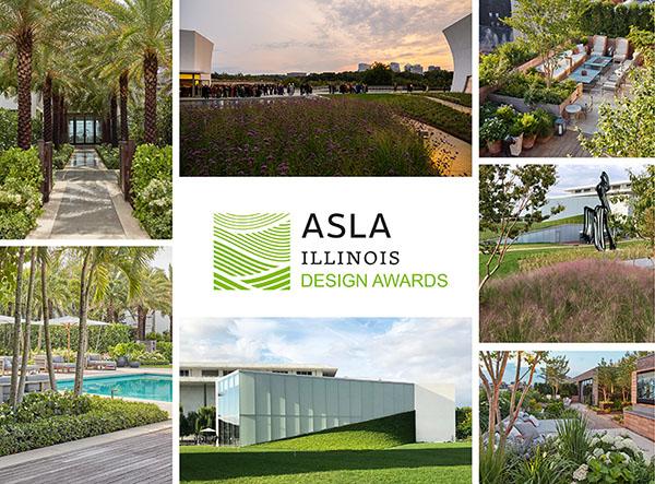 Hollander Design Wins Three Design Awards from ASLA Illinois