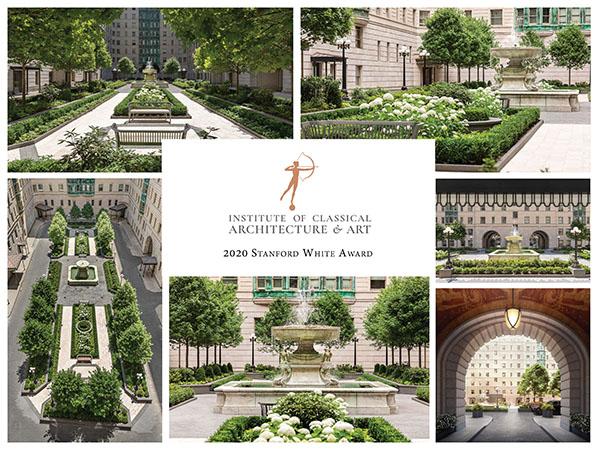 Hollander Design Wins Stanford White Award
