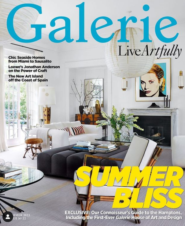 Galerie Magazine Features Hollander Project