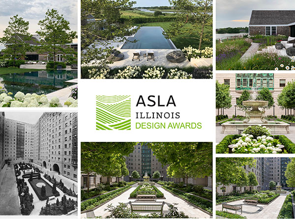 Hollander Wins Two 2021 Illinois ASLA Awards
